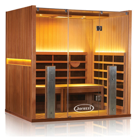 CLEARLIGHT SANCTUARY Y - Full Spectrum Four Person Infrared Sauna and Hot Yoga Room
