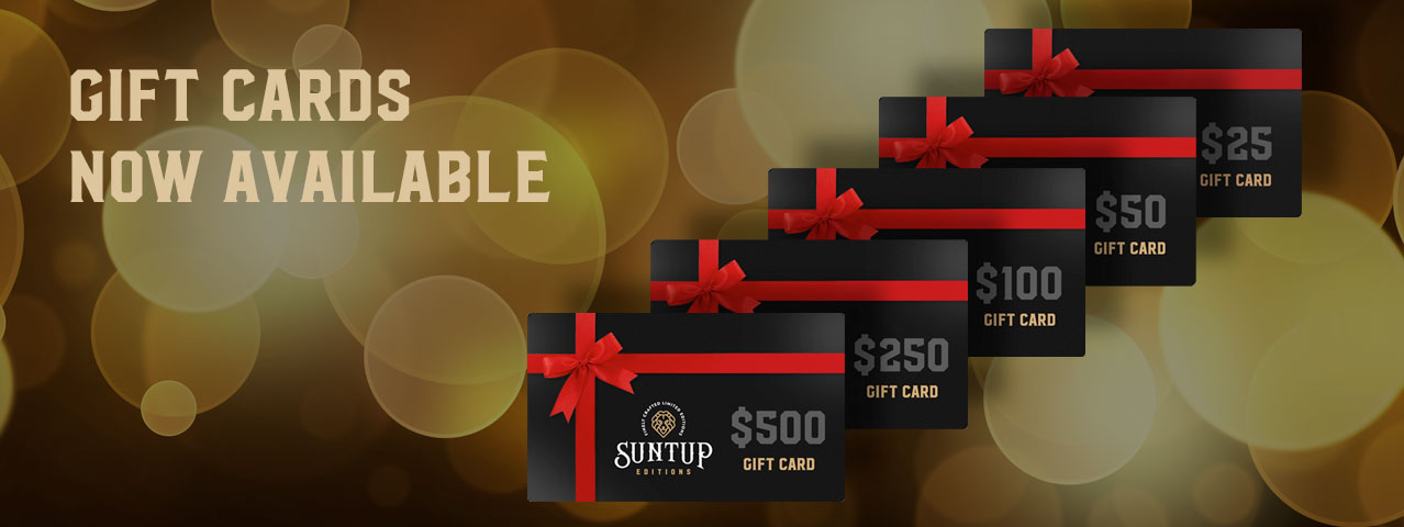 Suntup Editions Gift Cards