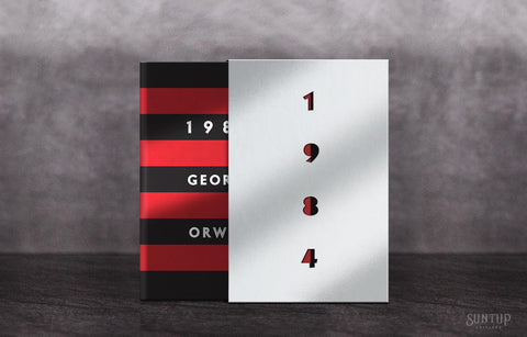 1984 by George Orwell - Artist Gift Edition