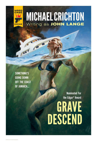 Hard Case Crime Cover Print: Grave Descend - Gregory Manchess