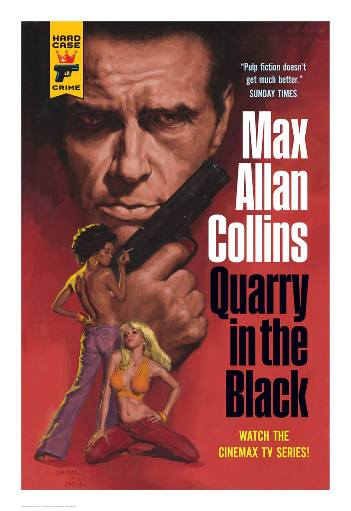 Hard Case Crime Cover Print: Quarry in the Black - Laurel Blechman, Glen Orbik