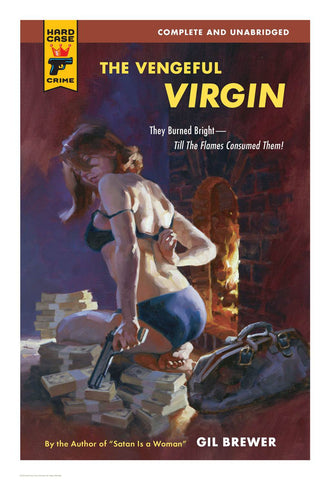 Hard Case Crime Cover Print: The Vengeful Virgin - Gregory Manchess