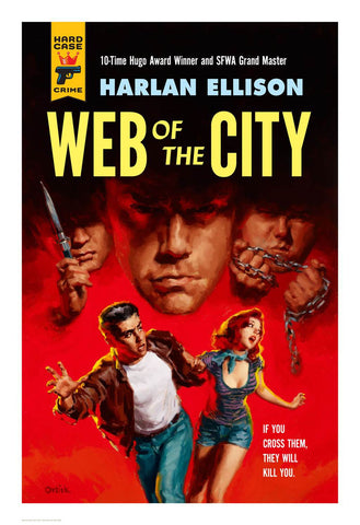 Hard Case Crime Cover Print: Web of the City - Glen Orbik