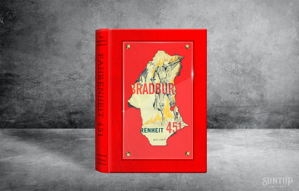 Fahrenheit 451 by Ray Bradbury - Lettered Edition