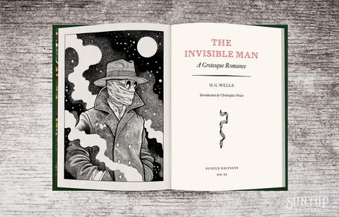 The Invisible Man by H.G. Wells - Lettered Edition