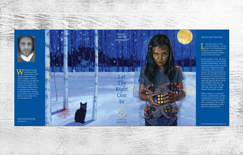 Let The Right One In Dust Jacket