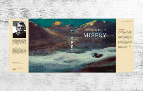 Misery Artist Gift Edition Dust Jacket