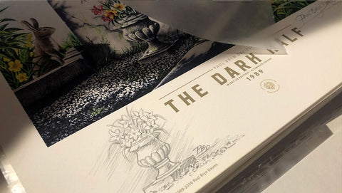 The Dark Half U.K. Alternate Cover - Fine Art Print - Paul Bryn Davies