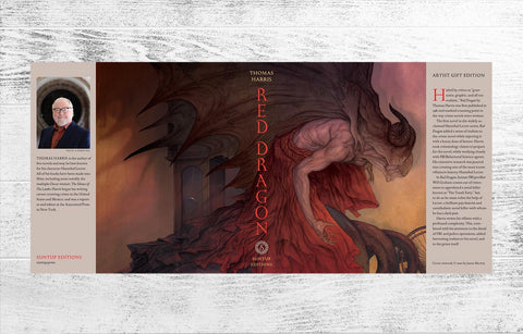 Red Dragon Artist Gift Edition Dust Jacket