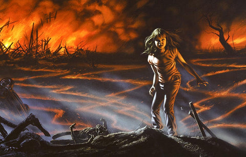 Firestarter Limited Edition Cover - Fine Art Print - Michael Whelan