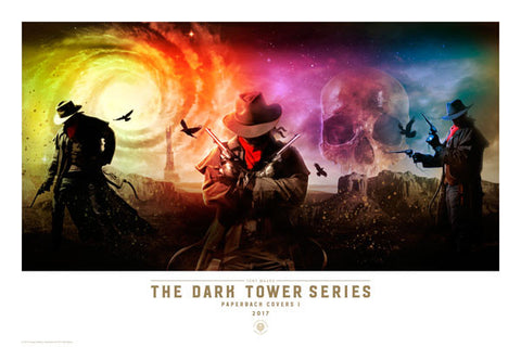 The Dark Tower Series Paperback Covers I - Art Print
