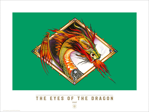 The Eyes of the Dragon - Fine Art Print - David Palladini