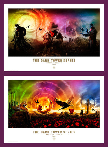 The Dark Tower Series Paperback Covers I & II - Posters