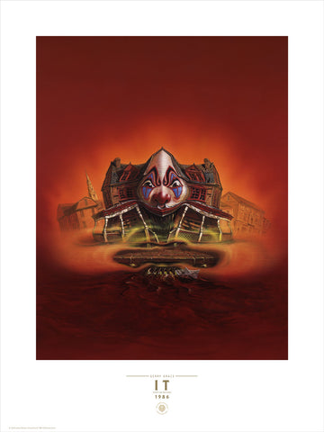 IT U.K. 1st Edition Cover Fine Art Print
