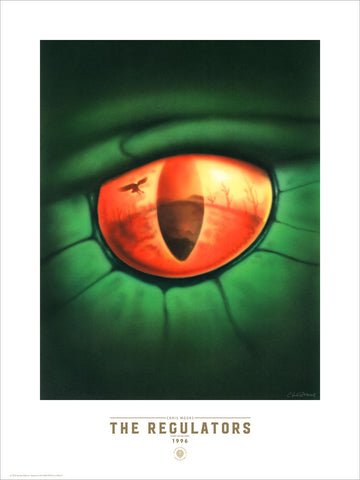 The Regulators U.K. 1st Edition - Fine Art Print - Chris Moore