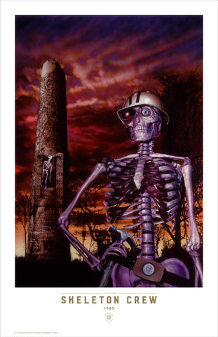 Skeleton Crew Limited Edition - Fine Art Print - J.K. Potter
