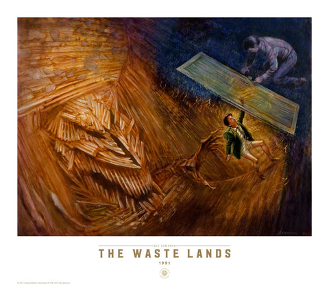 The Dark Tower III: The Waste Lands Fine Art Print