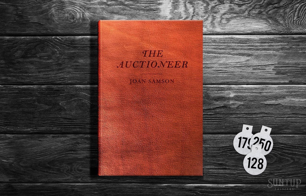 The Auctioneer by Joan Samson - Lettered Edition