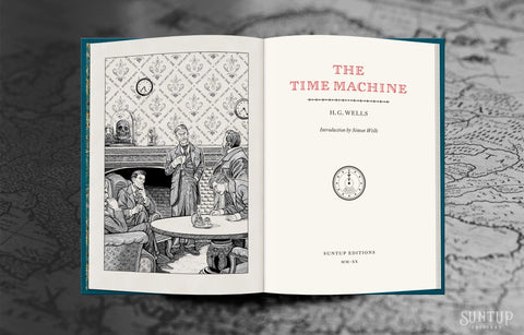 The Time Machine by H.G. Wells - Lettered Edition