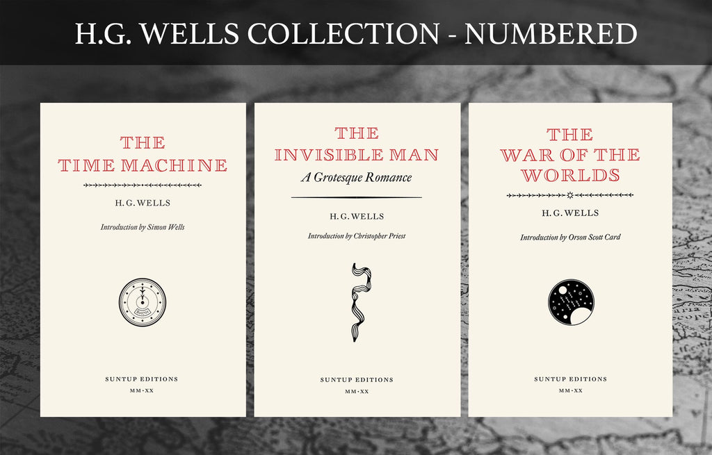 The H.G. Wells Collection - Numbered Editions