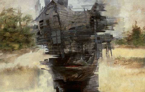 Black House Fine Art Print