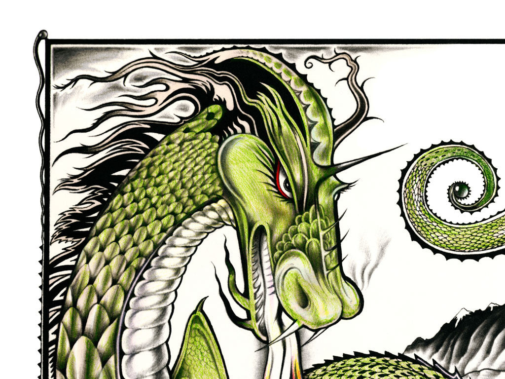 The Eyes of the Dragon Art Portfolio - Numbered Edition – Suntup ...