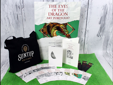 The Eyes of the Dragon Art Portfolio - Numbered Edition