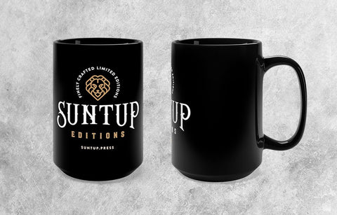 Suntup Editions 15oz Black Ceramic Mug