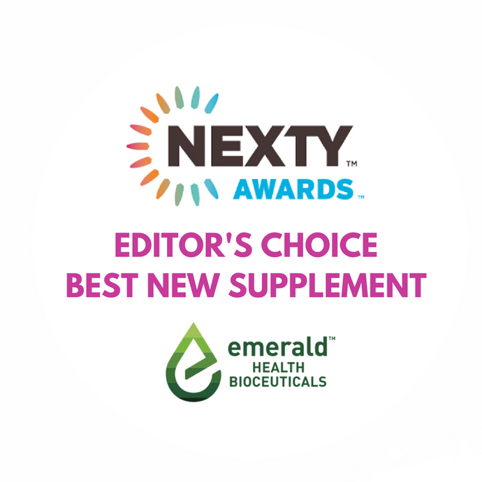 Emerald Health Bioceuticals Wins a 2017 Editors' Choice NEXTY Award