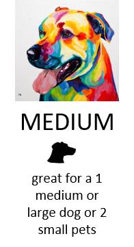 Custom Pet Art - Medium size