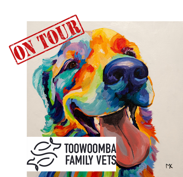 Paint, Sip & Nibble ON TOUR @Toowoomba Family Vets - 24 November 2018
