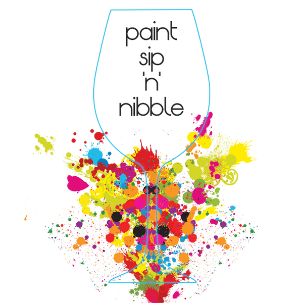 Gift Card Paint Sip & Nibble event