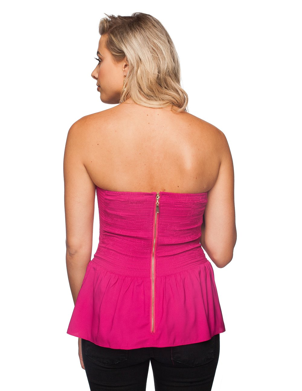 Eve Top in Magenta