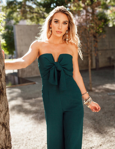 Erin Jumpsuit - Emerald