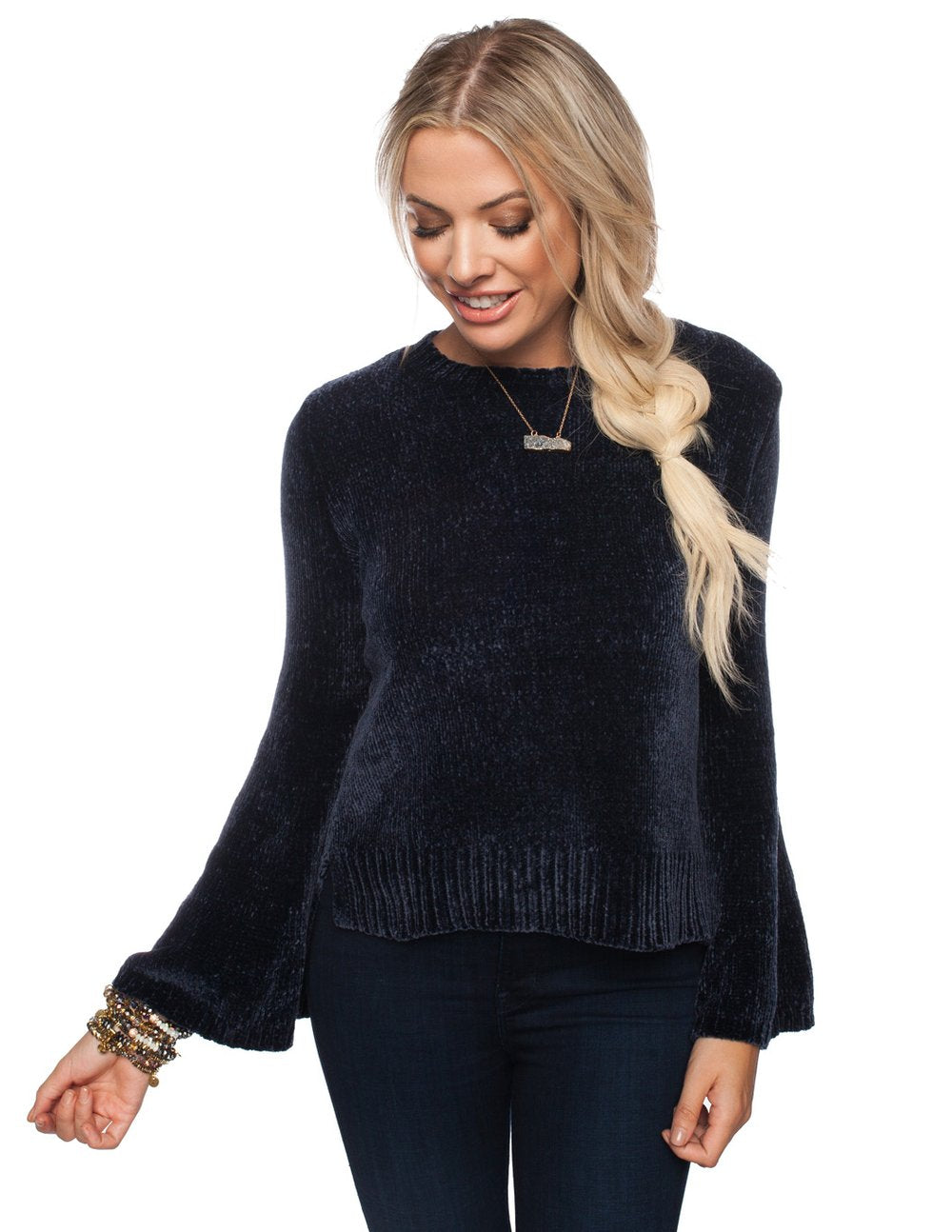 Diane Sweater in Slate