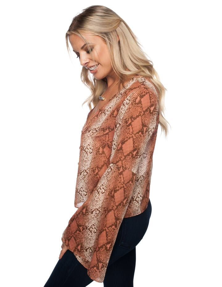Raphael Top in Desert Snake