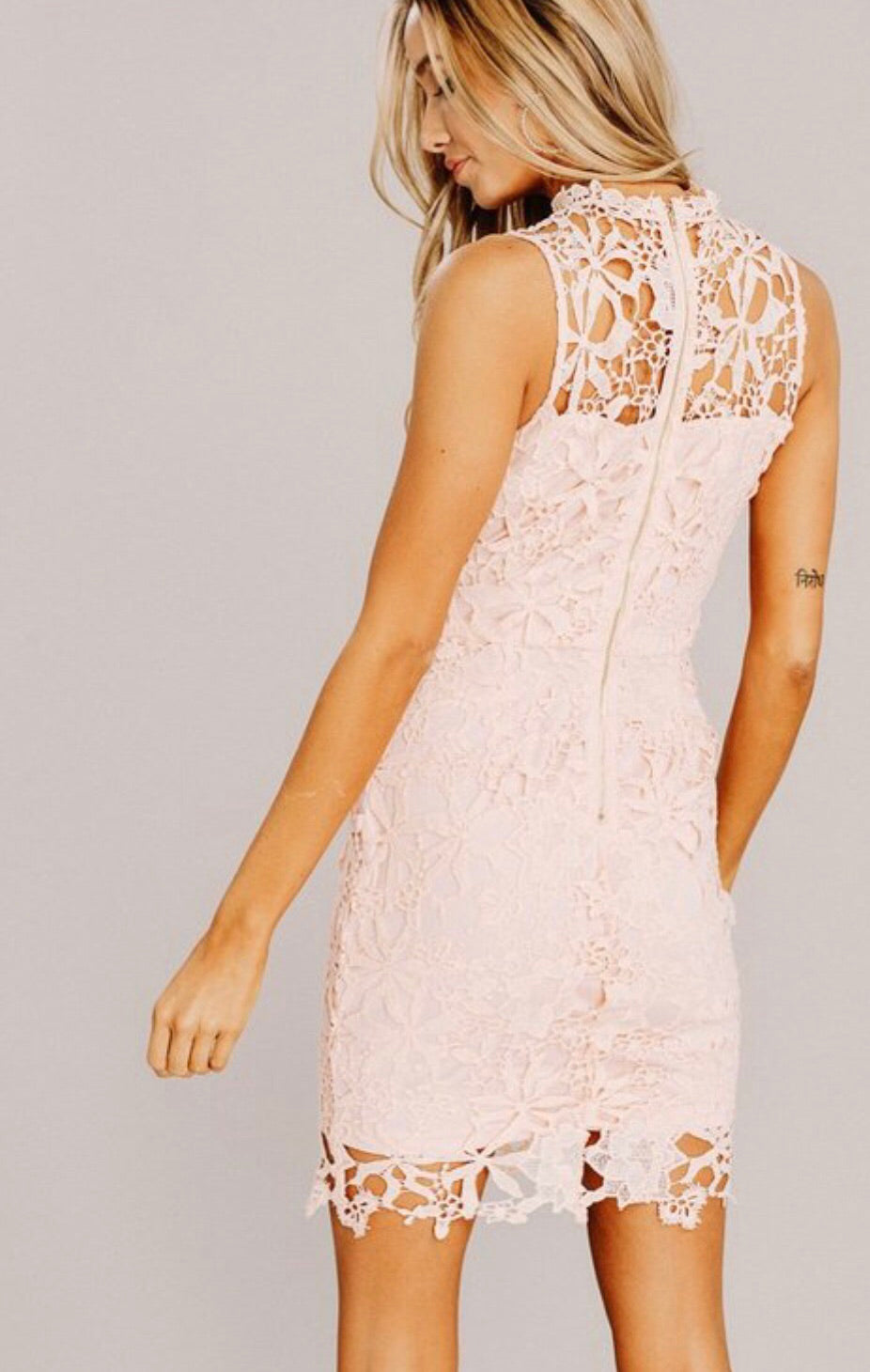 Lace & Flowers Dress