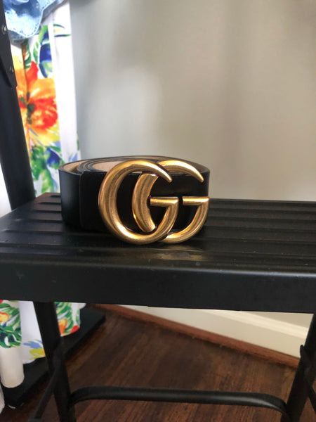 "Gucci Inspired Belt ""Large Size"""
