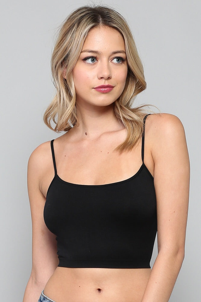 The Perfect Cropped Tank