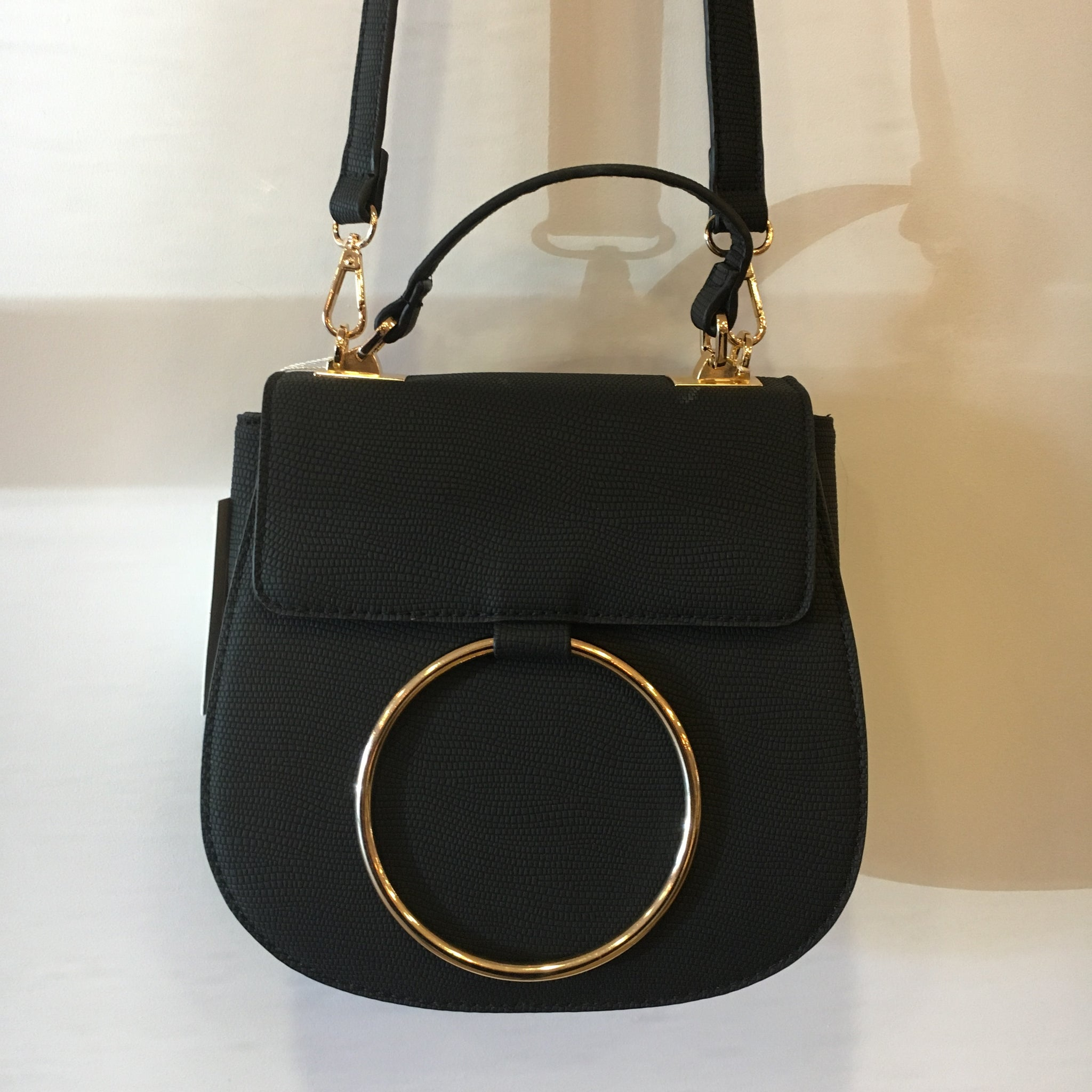 Carson Circle Saddle Crossbody