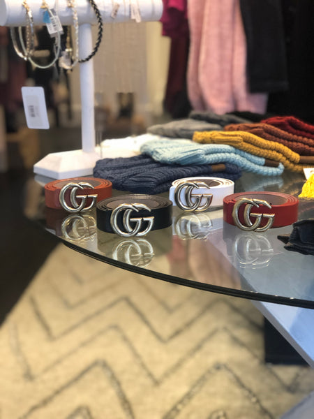 "Gucci inspired belt ""Medium Size"""