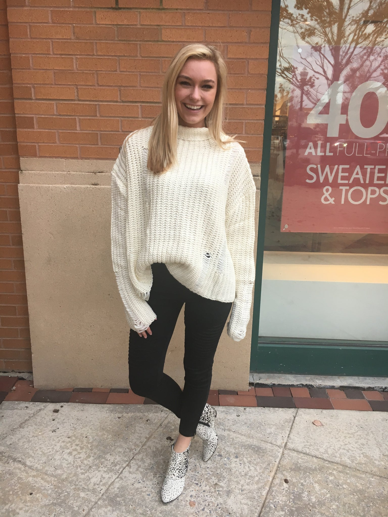 Cozy Open Knit Sweater