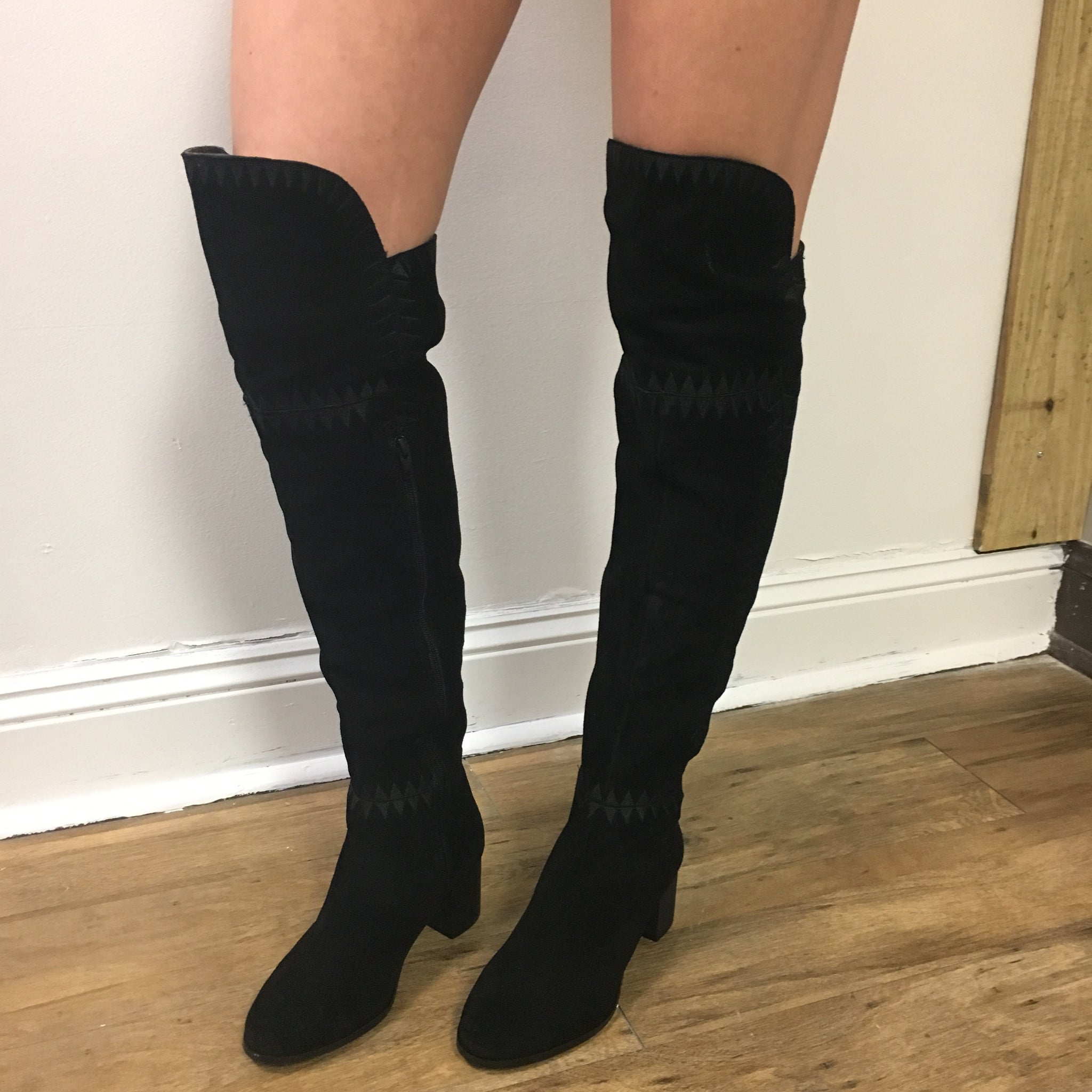 """Moon"" Over The Knee Boot"