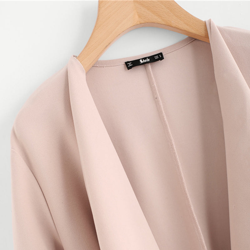 Andi Coat in Blush