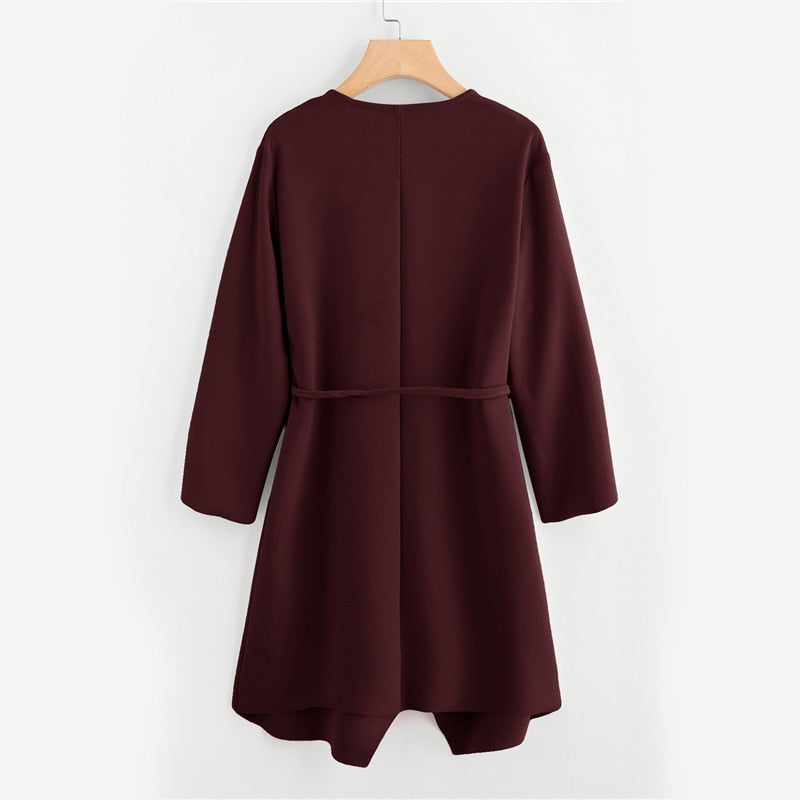 Andi Coat in Wine