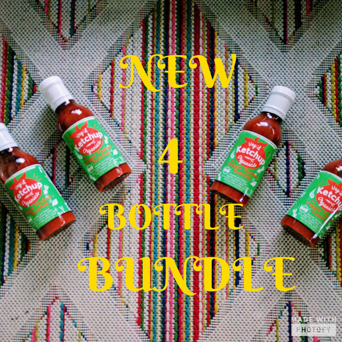 Introducing our Veggie Ketchup Lover's Bundle