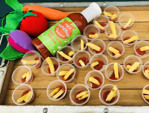 Veggie Ketchup samples