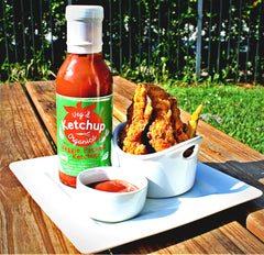 Veggie Packed Ketchup and Fries