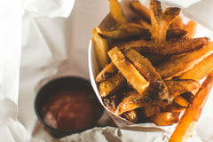 Veggie Ketchup and Fries