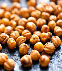Roasted Chickpeas Vegan Super Bowl Food